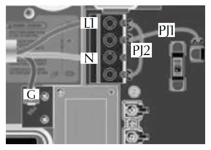 see wiring diagram for details  electrical wiring: in ye european model   refer to wiring diagram in the enclosure box lid for more information