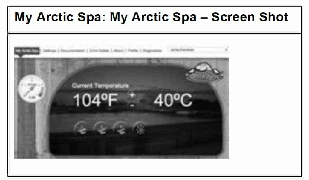 my arctic spa