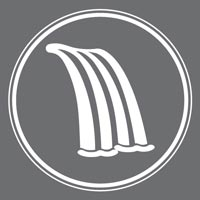Waterfall Arctic Spas Standard Feature