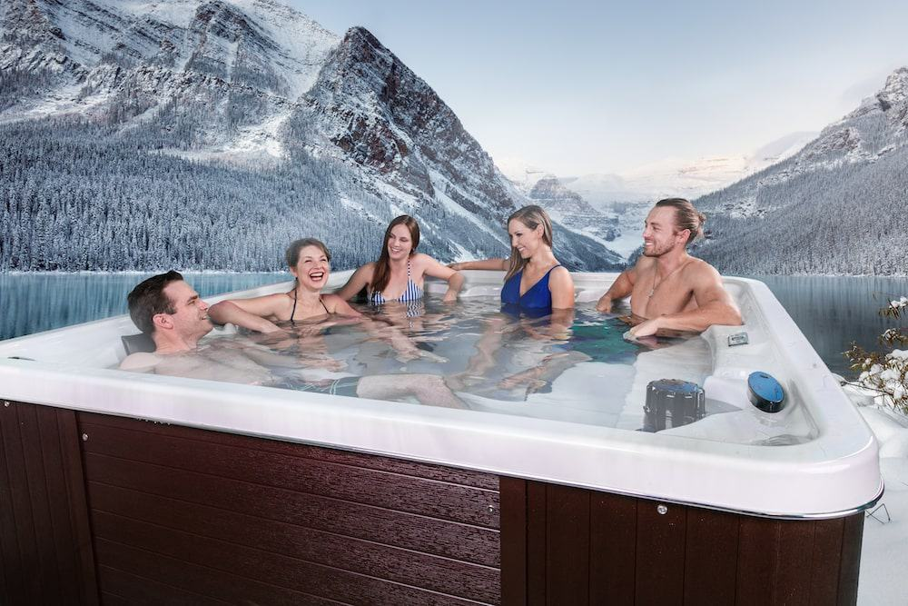 Arctic Spas Hot Tubs for all locations with family and friends
