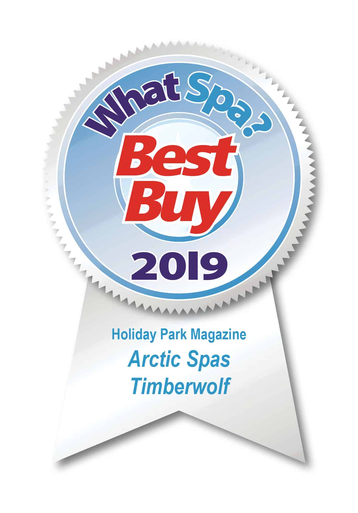 Arctic Spas UK Best Buy 2019 Timberwolf model