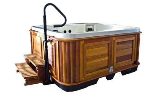 Arctic spas hot tub Handrail Side