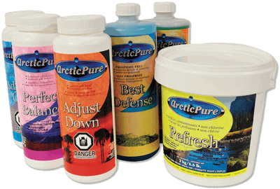 Arctic Spas arctic pure chemicals
