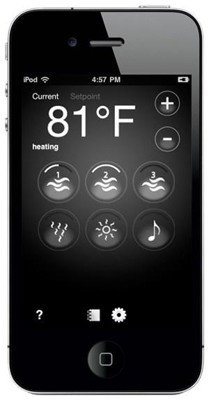 arctic spas hot tubs app on iphone