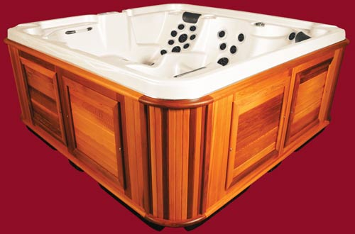 Side view of the Arctic Spas Hot Tub Klondiker model