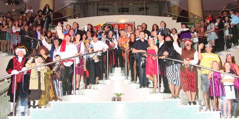 Evening Arctic Spas Gala which consisted of aPiratesof the Caribbean theme