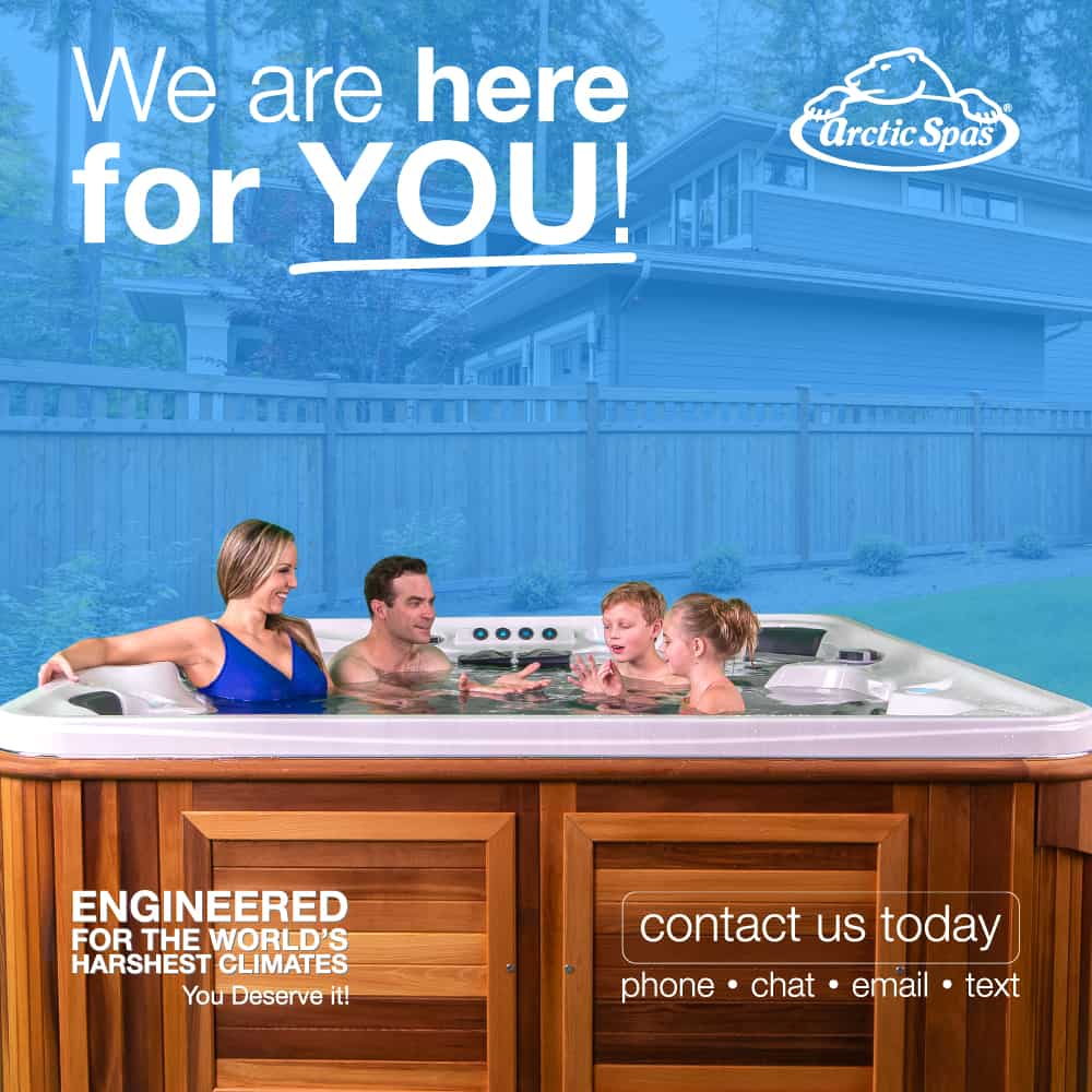 Arctic Spas We are here for you