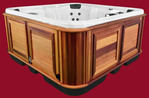 Side view of the Arctic Spas Hot Tub Yukon model