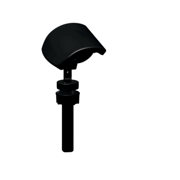 Side view of a Adjustable Headrest part