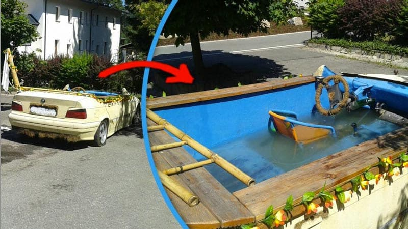 hot tub - car pool combo