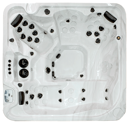 Top view of a Signature Series Hot Tub