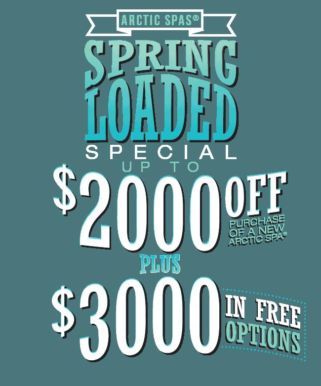 Spring Loaded Specials!
