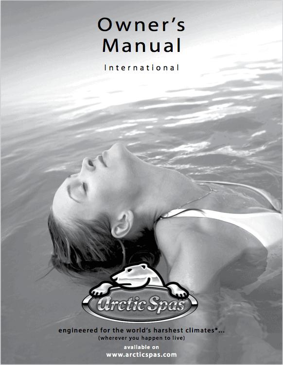arctic spas manual hot tub features maintenance safety rh arcticspas de Arctic Fox Spas Arctic Spas Review