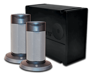 Image of a WetTunes speakers